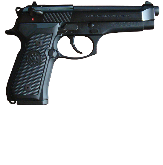Appearance of the Beretta 92FS with Magazine