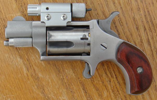 NAA mini-revolver with Laser