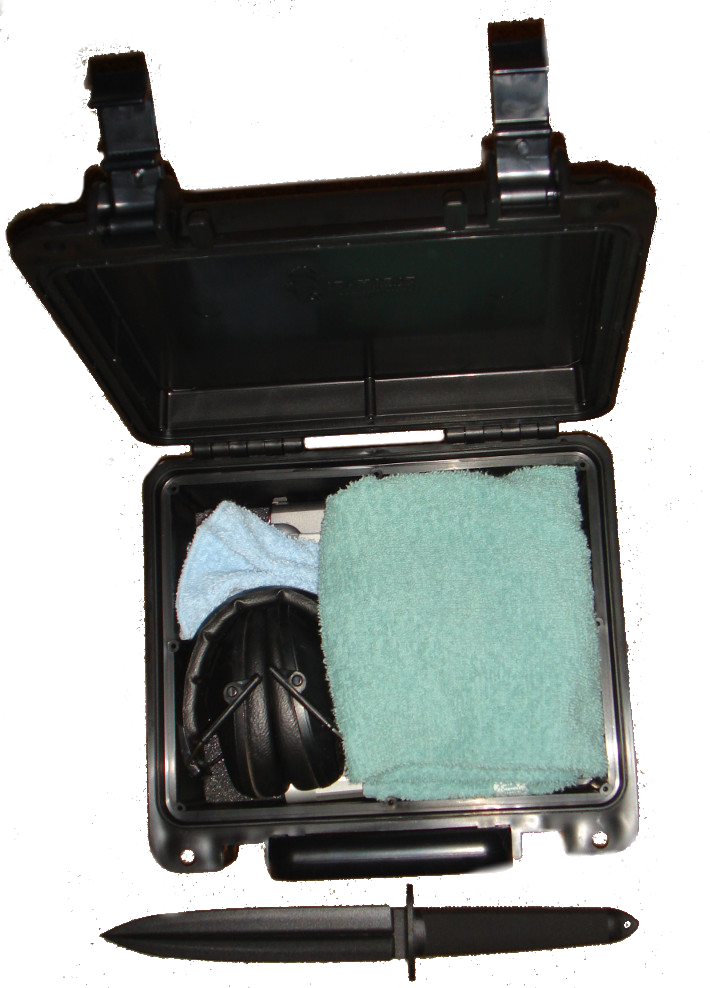 shower defense box